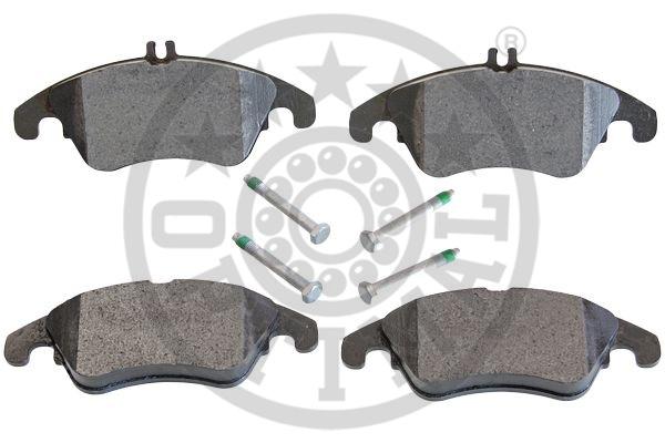 Kit de plaquettes de frein, frein à disque - OPTIMAL - 12453
