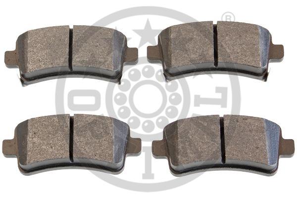 Kit de plaquettes de frein, frein à disque - OPTIMAL - 12454