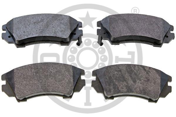 Kit de plaquettes de frein, frein à disque - OPTIMAL - 12455