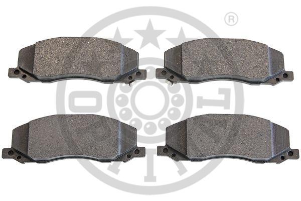 Kit de plaquettes de frein, frein à disque - OPTIMAL - 12456