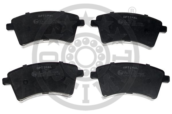 Kit de plaquettes de frein, frein à disque - OPTIMAL - 12463