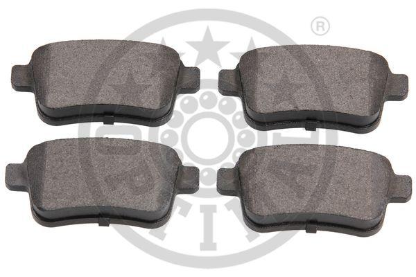 Kit de plaquettes de frein, frein à disque - OPTIMAL - 12464