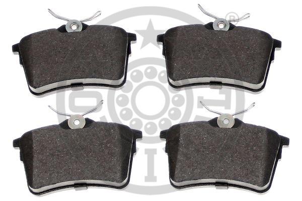 Kit de plaquettes de frein, frein à disque - OPTIMAL - 12465