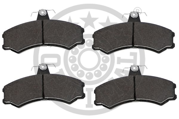 Kit de plaquettes de frein, frein à disque - OPTIMAL - 12466