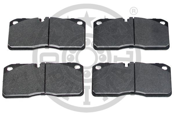 Kit de plaquettes de frein, frein à disque - OPTIMAL - 12469