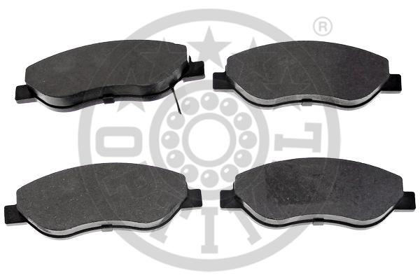 Kit de plaquettes de frein, frein à disque - OPTIMAL - 12471