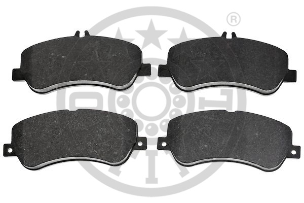 Kit de plaquettes de frein, frein à disque - OPTIMAL - 12473