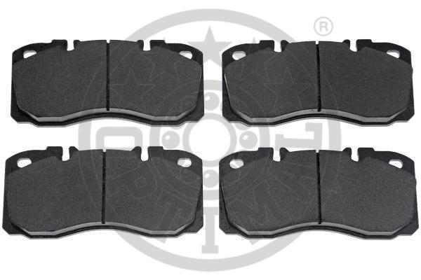 Kit de plaquettes de frein, frein à disque - OPTIMAL - 12475