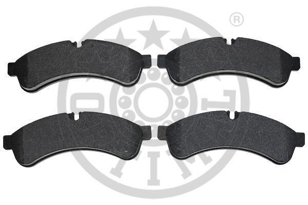 Kit de plaquettes de frein, frein à disque - OPTIMAL - 12476