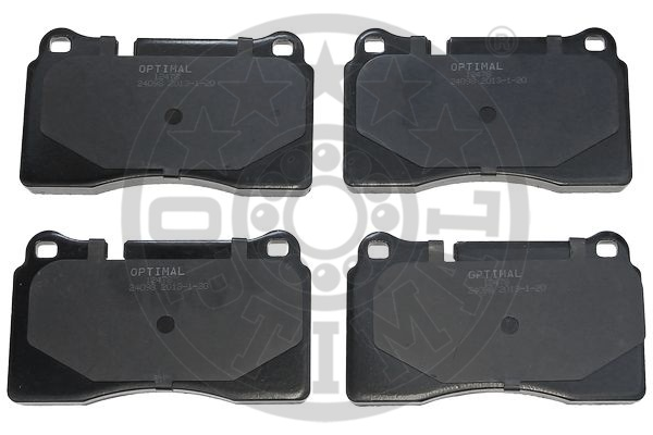 Kit de plaquettes de frein, frein à disque - OPTIMAL - 12478