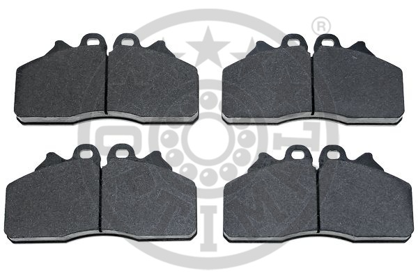 Kit de plaquettes de frein, frein à disque - OPTIMAL - 12479