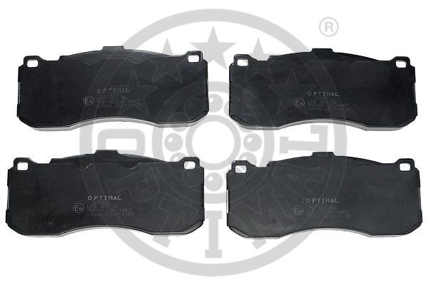 Kit de plaquettes de frein, frein à disque - OPTIMAL - 12480