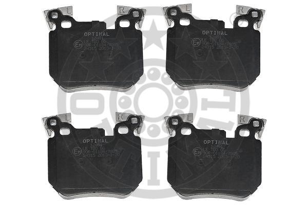 Kit de plaquettes de frein, frein à disque - OPTIMAL - 12481