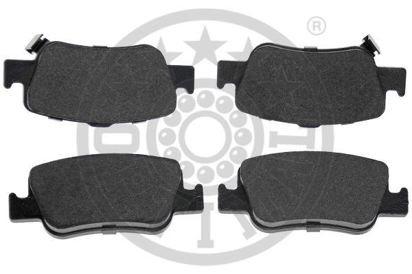 Kit de plaquettes de frein, frein à disque - OPTIMAL - 12484
