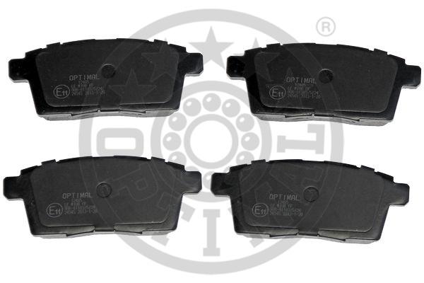 Kit de plaquettes de frein, frein à disque - OPTIMAL - 12485