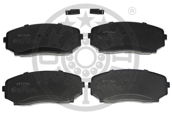Kit de plaquettes de frein, frein à disque - OPTIMAL - 12486