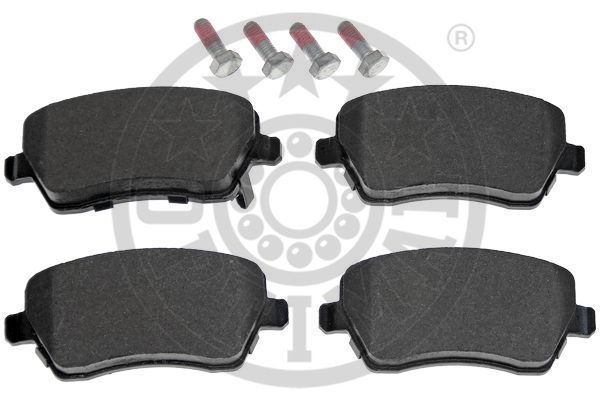 Kit de plaquettes de frein, frein à disque - OPTIMAL - 12487