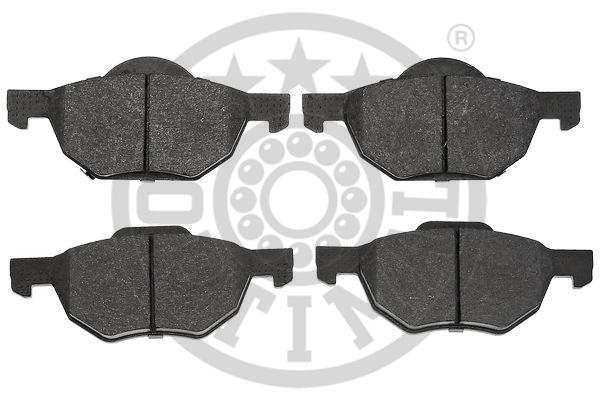 Kit de plaquettes de frein, frein à disque - OPTIMAL - 12488