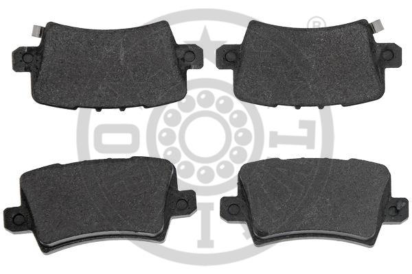 Kit de plaquettes de frein, frein à disque - OPTIMAL - 12490