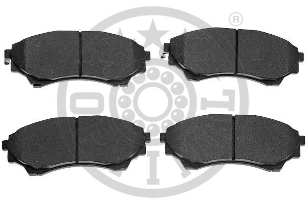 Kit de plaquettes de frein, frein à disque - OPTIMAL - 12491