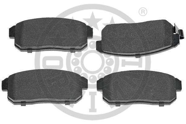 Kit de plaquettes de frein, frein à disque - OPTIMAL - 12492