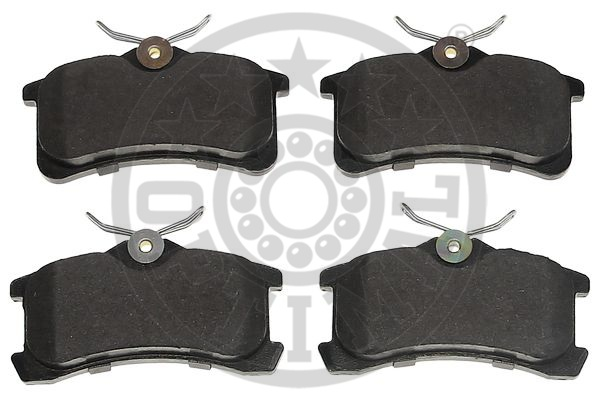 Kit de plaquettes de frein, frein à disque - OPTIMAL - 12493