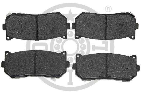 Kit de plaquettes de frein, frein à disque - OPTIMAL - 12494