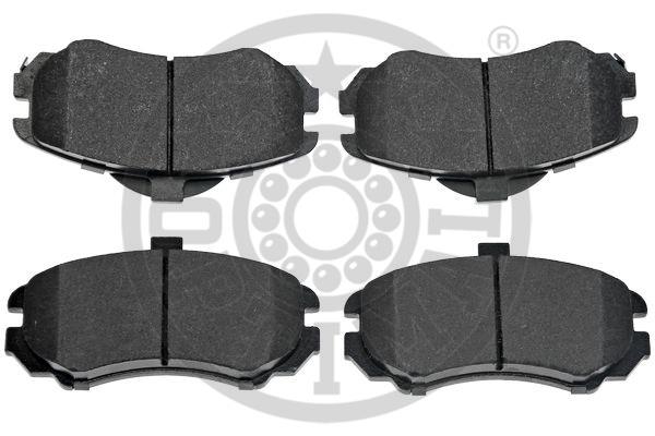 Kit de plaquettes de frein, frein à disque - OPTIMAL - 12495