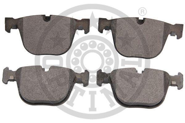 Kit de plaquettes de frein, frein à disque - OPTIMAL - 12497