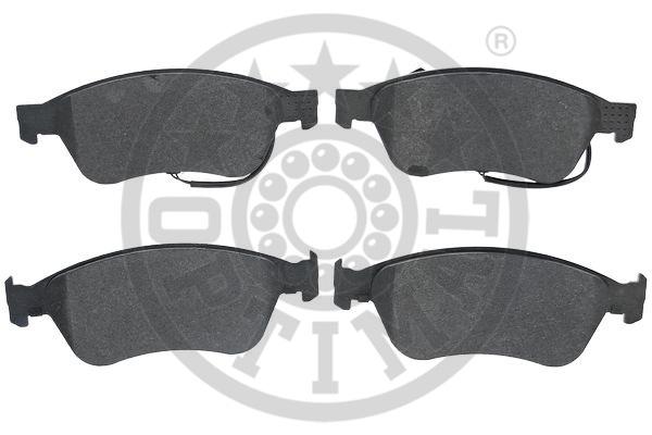 Kit de plaquettes de frein, frein à disque - OPTIMAL - 12498