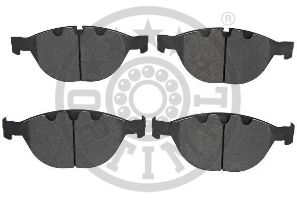 Kit de plaquettes de frein, frein à disque - OPTIMAL - 12500