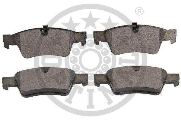 Kit de plaquettes de frein, frein à disque - OPTIMAL - 12501