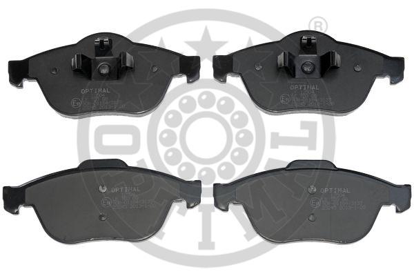 Kit de plaquettes de frein, frein à disque - OPTIMAL - 12504