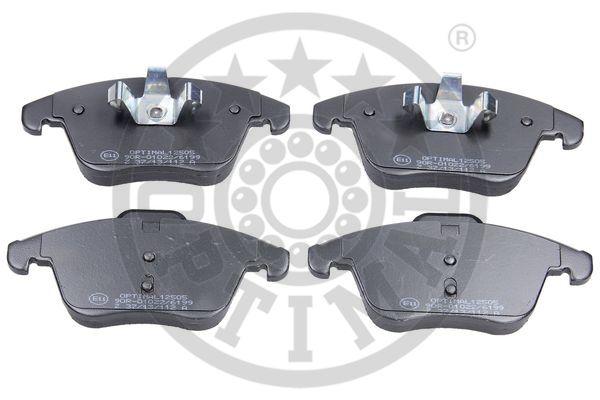 Kit de plaquettes de frein, frein à disque - OPTIMAL - 12505