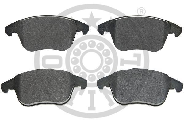 Kit de plaquettes de frein, frein à disque - OPTIMAL - 12506