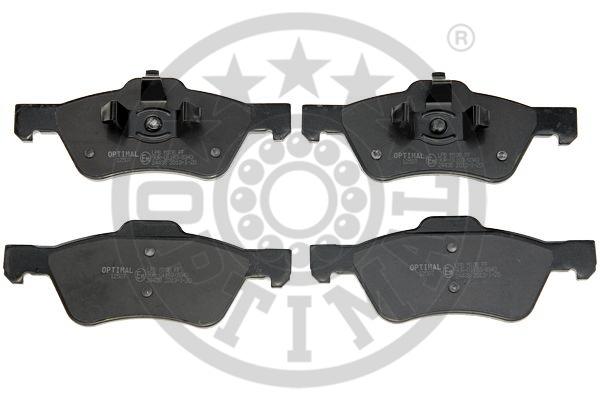 Kit de plaquettes de frein, frein à disque - OPTIMAL - 12507