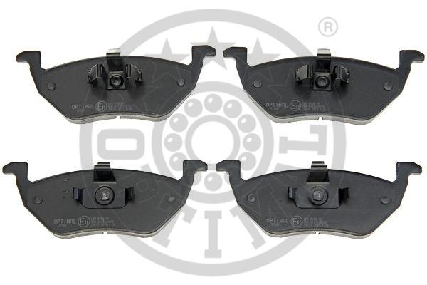 Kit de plaquettes de frein, frein à disque - OPTIMAL - 12508