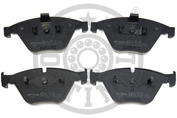 Kit de plaquettes de frein, frein à disque - OPTIMAL - 12509