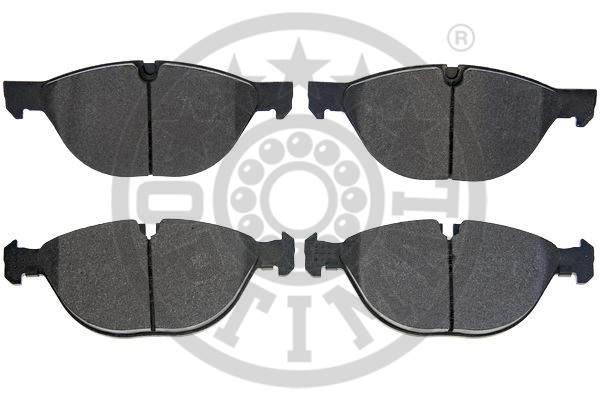 Kit de plaquettes de frein, frein à disque - OPTIMAL - 12510