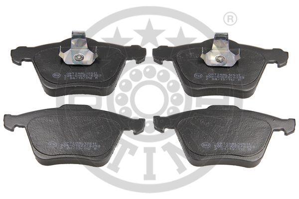 Kit de plaquettes de frein, frein à disque - OPTIMAL - 12511