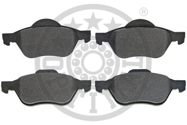 Kit de plaquettes de frein, frein à disque - OPTIMAL - 12512