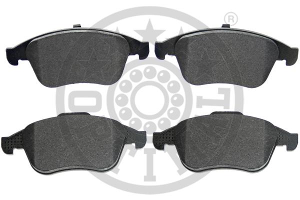 Kit de plaquettes de frein, frein à disque - OPTIMAL - 12513