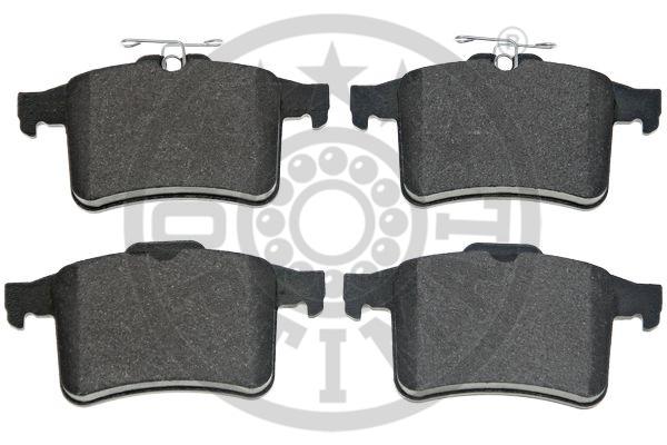 Kit de plaquettes de frein, frein à disque - OPTIMAL - 12514