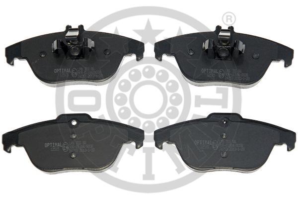 Kit de plaquettes de frein, frein à disque - OPTIMAL - 12515