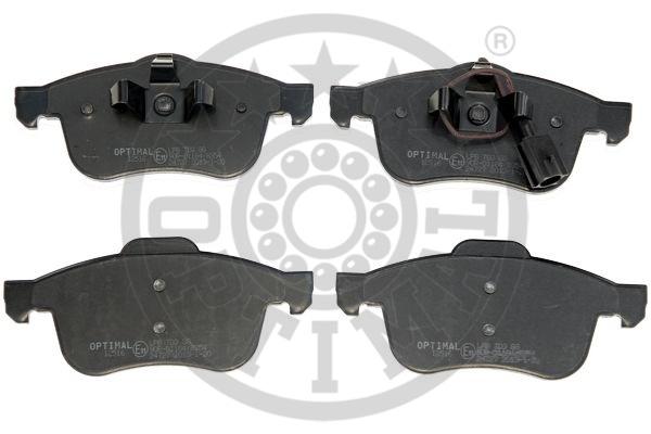 Kit de plaquettes de frein, frein à disque - OPTIMAL - 12516