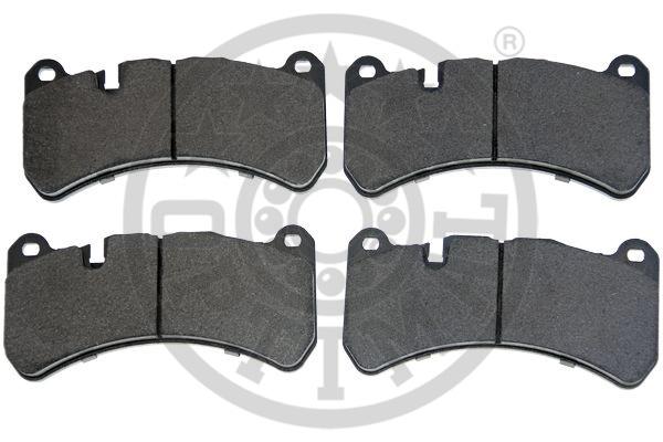 Kit de plaquettes de frein, frein à disque - OPTIMAL - 12518