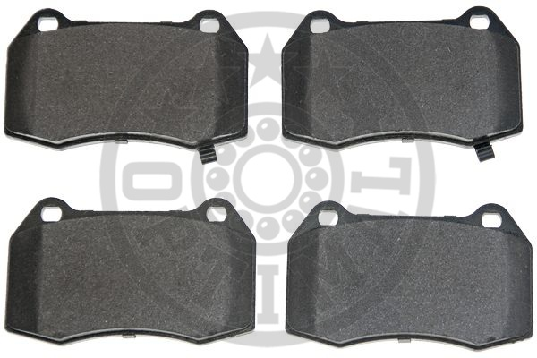 Kit de plaquettes de frein, frein à disque - OPTIMAL - 12519