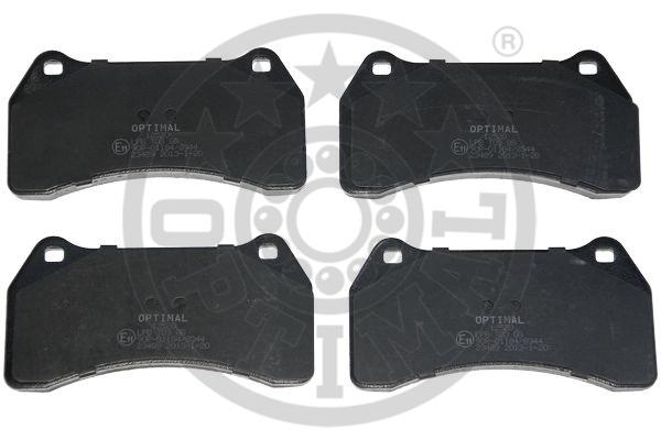 Kit de plaquettes de frein, frein à disque - OPTIMAL - 12520