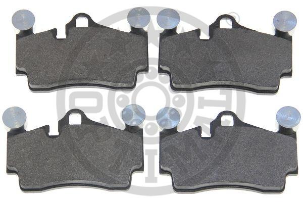 Kit de plaquettes de frein, frein à disque - OPTIMAL - 12521