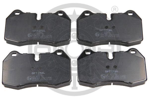 Kit de plaquettes de frein, frein à disque - OPTIMAL - 12522